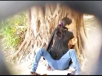 Desi couple outdoor sex