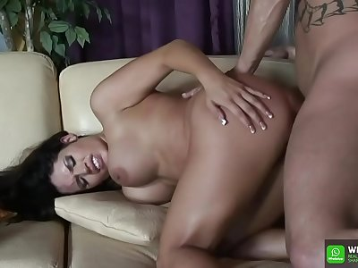 Teen Baby get big dick in here wet pussy and finger anal in here asshole